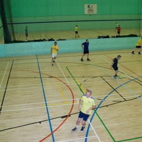 Indoor football stag activity in Bratislava