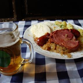 Slovak dinner during stag do