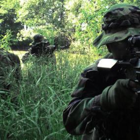 Bratislava airsoft in the forest